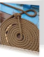 Nautisch - keurig opgerold touw