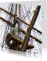 Nautisch - kraaiennest hoog in mast