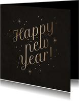 Neujahrskarte Happy New Year