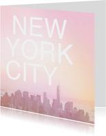 New York zomer skyline vakantie