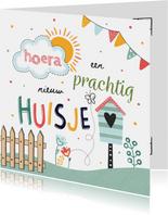 Nieuwe Woning - Hoera een prachtig nieuw huisje