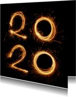 Nieuwjaar - 2020 vuurwerk