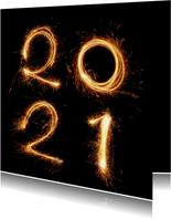 Nieuwjaar - 2021 vuurwerk