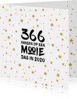 Nieuwjaar 366 mooie dagen in 2020