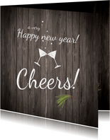Nieuwjaarskaart Cheers