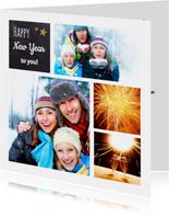 Nieuwjaarskaart collage - DH