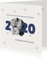 Nieuwjaarskaart foto 2020 kader