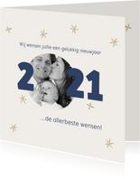 Nieuwjaarskaart foto 2021 kader