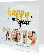 Nieuwjaarskaart - foto collage 2019
