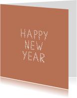 Nieuwjaarskaart takjes - HM