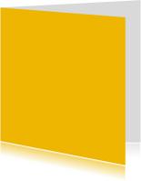 Oker geel dubbel vierkant