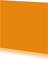 Oranje enkel vierkant
