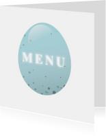 Paaskaart menu