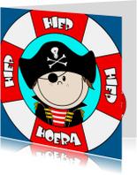 PIRAAT Hiep hiep hoera piraatje
