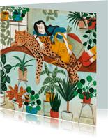 Planten en Luipaard sterktekaart
