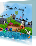 Spreukenkaarten - Pluk de dag
