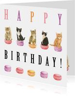 Poesjes en Macarons Happy Birthday
