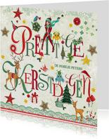 Prettige Kerstdagen Letters