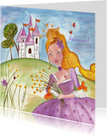 Prinses en Kasteel by Cartita Design