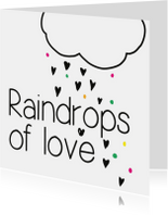 Raindrop of love