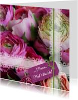 Ranonkel lila groen paars roze