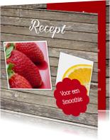 Recept voor een smoothie - DH