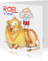 Roel is stoer