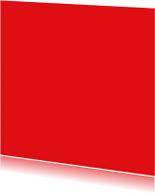 Rood vierkant enkel