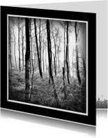 Rouwkaart bomen - lb
