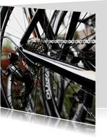 rouwkaart hobby fiets