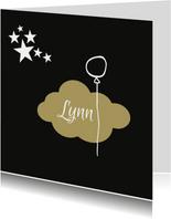 rouwkaart wolk ballon