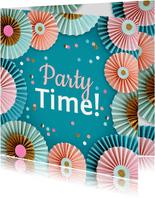 Rozetten en confetti party time