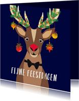 Rudolf wenst jullie fijne feestdagen