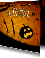 Run Pumkin Run - Happy Halloween