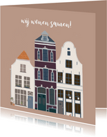 Samenwoonkaart karakteristieke huizen