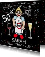 Sarahpop wijntje