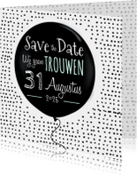 Save the Date ballon