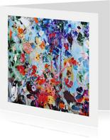 Schilderkunst bloemen Martine de Ruiter iets fraais