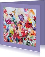 Schilderkunst met paletstukken van Martine de Ruiter