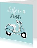 Scooter verjaardagskaart - SG