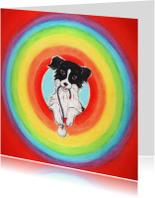 Kinderkaarten - Sendie in de regenboogcirkel