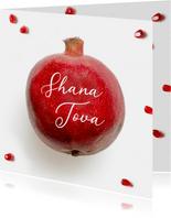 Shana Tova joods nieuwjaarskaart