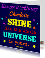 Shiny Birthday