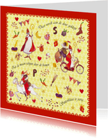 Sinterklaas 5 december Cartita Design