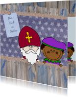 Sinterklaas en piet naamkaart 4k
