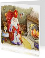 Sinterklaas prent nostalgisch