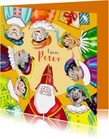 Sinterklaas - Sint en zeven Pieten