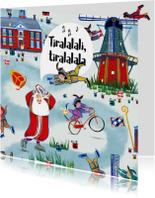 Sinterklaaskaart met het leukste inpakpapier van Nederland