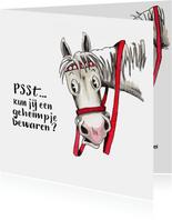 Sinterklaaskaarten Ozosnel verteld een geheimpje