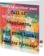 Smashing Birthday